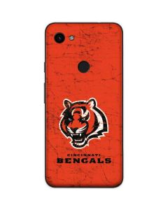 Cincinnati Bengals - Alternate Distressed Google Pixel 3a Skin