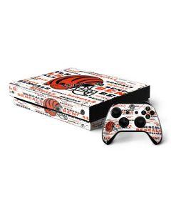 Cincinnati Bengals - Blast Xbox One X Bundle Skin