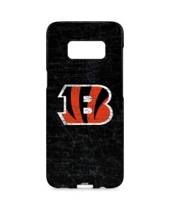 Cincinnati Bengals - Distressed Galaxy S8 Plus Lite Case