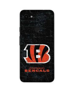 Cincinnati Bengals - Distressed Google Pixel 3a Skin