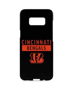 Cincinnati Bengals Black Performance Series Galaxy S8 Plus Lite Case