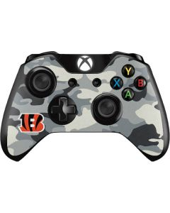 Cincinnati Bengals Camo Xbox One Controller Skin