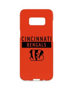 Cincinnati Bengals Orange Performance Series Galaxy S8 Plus Lite Case
