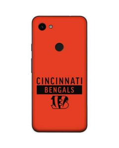 Cincinnati Bengals Orange Performance Series Google Pixel 3a Skin