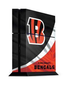 Cincinnati Bengals PS4 Console Skin
