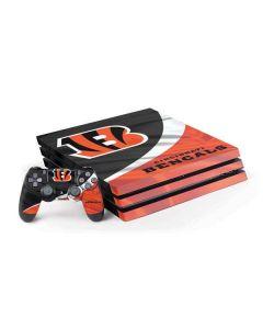 Cincinnati Bengals PS4 Pro Bundle Skin