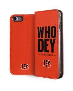 Cincinnati Bengals Team Motto iPhone 8 Folio Case