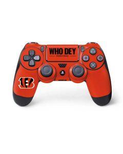 Cincinnati Bengals Team Motto PS4 Controller Skin