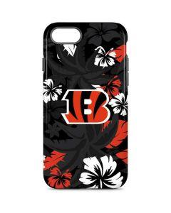 Cincinnati Bengals Tropical Print iPhone 7 Pro Case