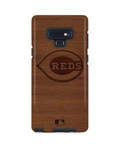 Cincinnati Reds Engraved Galaxy Note 9 Pro Case