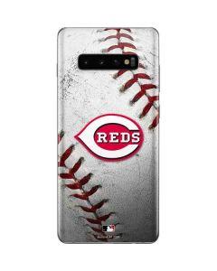 Cincinnati Reds Game Ball Galaxy S10 Plus Skin