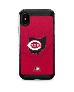 Cincinnati Reds Home Turf iPhone XS Cargo Case