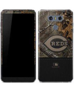 Cincinnati Reds Realtree Xtra Camo LG G6 Skin