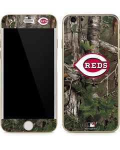 Cincinnati Reds Realtree Xtra Green Camo iPhone 6/6s Skin