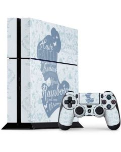 Cinderella Faith In Your Dreams PS4 Console and Controller Bundle Skin