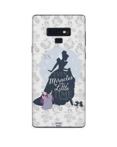 Cinderella Miracles Take Time Galaxy Note 9 Skin