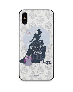 Cinderella Miracles Take Time iPhone X Skin