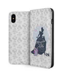 Cinderella Miracles Take Time iPhone XS Folio Case