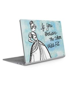 Cinderella Shoe Will Fit Surface Book 2 13.5in Skin