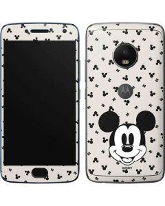 Classic Mickey Mouse Moto G5 Plus Skin