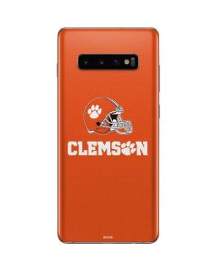 Clemson Football Galaxy S10 Plus Skin