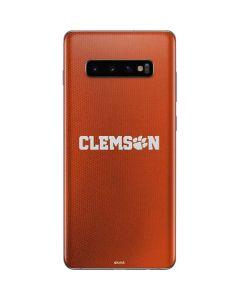 Clemson Galaxy S10 Plus Skin