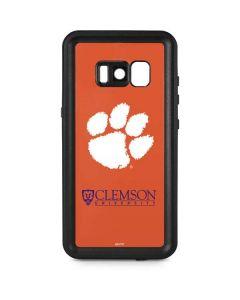 Clemson Paw Mark Galaxy S8 Plus Waterproof Case