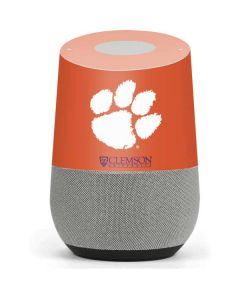 Clemson Paw Mark Google Home Skin