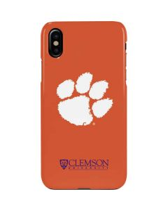 Clemson Paw Mark iPhone XS Max Lite Case