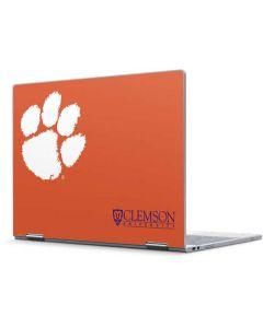 Clemson Paw Mark Pixelbook Skin