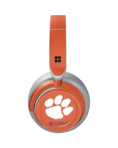 Clemson Paw Mark Surface Headphones Skin