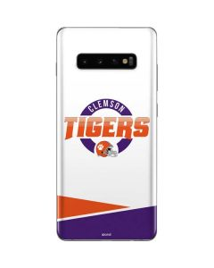 Clemson Tigers Football Galaxy S10 Plus Skin