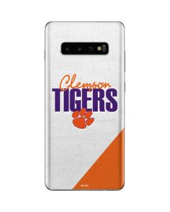 Clemson Tigers Galaxy S10 Plus Skin