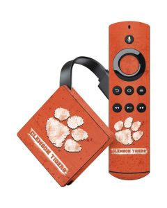 Clemson Tigers Vintage Amazon Fire TV Skin