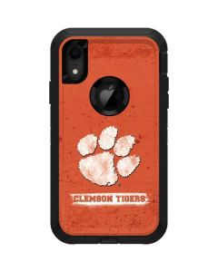 Clemson Tigers Vintage Otterbox Defender iPhone Skin