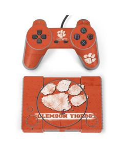 Clemson Tigers Vintage PlayStation Classic Bundle Skin