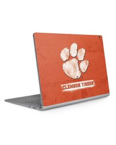 Clemson Tigers Vintage Surface Book 2 13.5in Skin