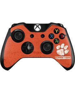Clemson Tigers Vintage Xbox One Controller Skin