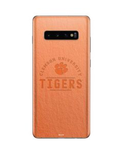 Clemson University Tigers Galaxy S10 Plus Skin