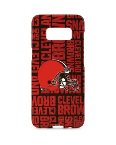 Cleveland Browns - Blast Galaxy S8 Plus Lite Case