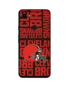 Cleveland Browns - Blast Google Pixel 3a Skin