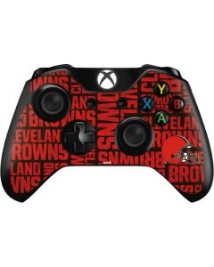 Cleveland Browns - Blast Xbox One Controller Skin