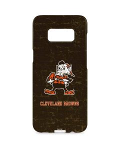 Cleveland Browns Alternate Distressed Galaxy S8 Plus Lite Case
