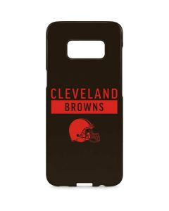 Cleveland Browns Brown Performance Series Galaxy S8 Plus Lite Case