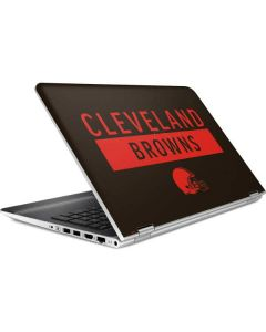 Cleveland Browns Brown Performance Series HP Pavilion Skin
