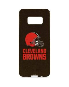 Cleveland Browns Distressed Galaxy S8 Plus Lite Case