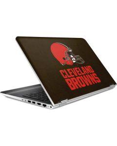 Cleveland Browns Distressed HP Pavilion Skin