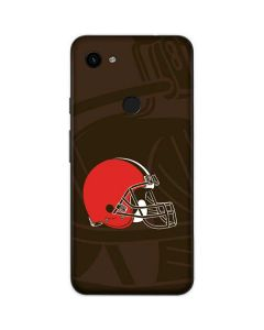 Cleveland Browns Double Vision Google Pixel 3a Skin