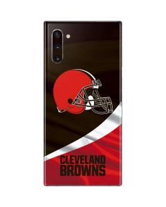 Cleveland Browns Galaxy Note 10 Skin