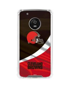 Cleveland Browns Moto G5 Plus Clear Case